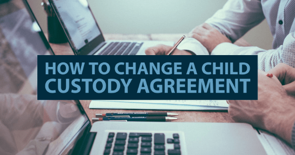 Lawyer sign in and agreement regarding child custody