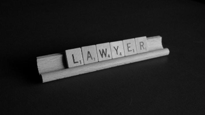lawyer spelled on scrabble